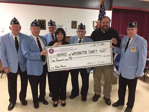 Hospice of Washington County Donation